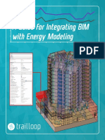 A Guide for Integrating BIM with Energy Modeling