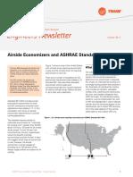 Airside Economizers and ASHRAE Standard 90.1-2013