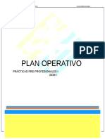 Plan Operativo Mdvl