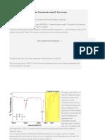 Structure Determination Using IR Spectroscopy