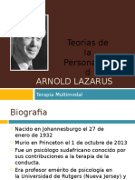 Arnold Lazarus