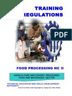 TR - Food Processing NC II.doc