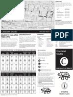 Crosstown Final Brochure 030711