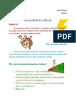 feedback handout-1