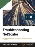 Troubleshooting NetScaler - Sample Chapter