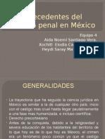 Antecedentes Del Derecho Penal en México