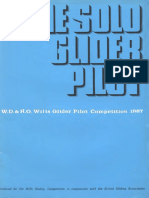 The Solo Glider Pilot