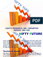 Equity Research Lab 3rd May Derivative Report