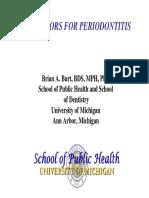 Brian Burt - Perio Risk Factors 06-Oral Presentation