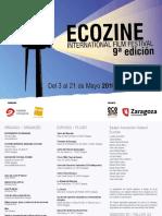 Programa Oficial Ecozine 2016