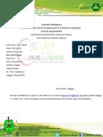 Formulir Pendaftaran Lkti Cfc Second Edition