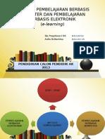Strategi Pembelajaran Berbasis Komputer Dan Pembelajaran Berbasis Elektronik(E-learning)