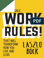 Work Rules! - Lazslo Bock