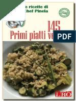 145 Primi Piatti Vegan (Le Rice - Chef Pinela