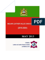 Malawi Leather Value Chain Strategy 2015