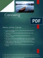 canoeing presentation 1