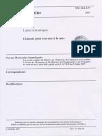 NM 10.1.157 Ciment Pour Travaux a La Mer