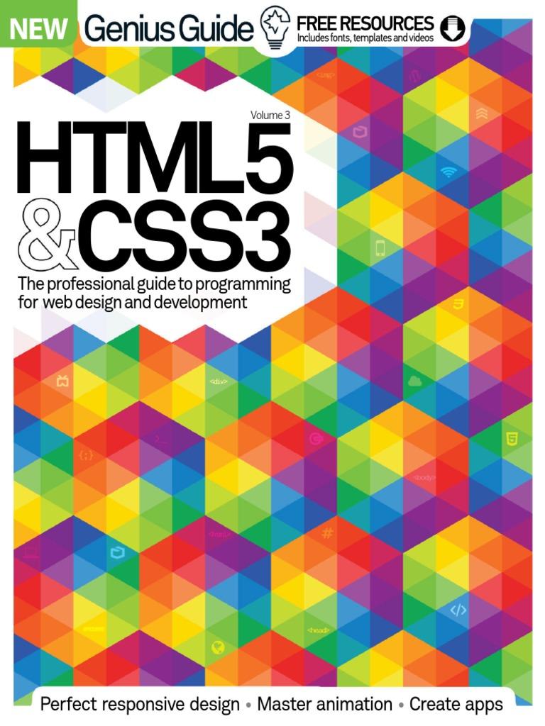HTML5CSS3G3niusGuidevol3 pdf | Google Chrome | Virtual Reality