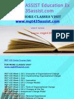 MGT 435 ASSIST Education Expert-mgt435assist.com