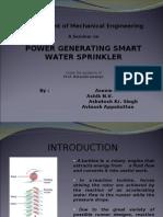 Power Generating Sprinkler
