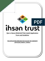 Ihsan Trust Qarz e Hasna Application Form 2014(2)
