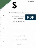 JIS A 6202 1980
