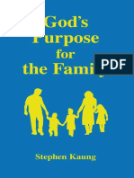 God's Purpose for the Family - Stephen Kaung.epub
