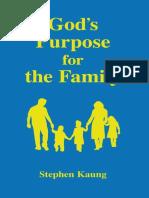 God's Purpose for the Family - Stephen Kaung.epub