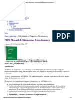 PDM Manual de Diagnóstico Psicodinámico
