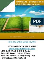 Bio 240 Bio Tutorial Professional