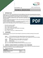 Technical Offer for 11kv Sm6 Switchgear