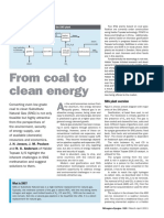 Coal to Clean Energy Nitrogen Syngas