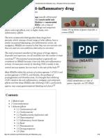 Nonsteroidal Anti-Inflammatory Drug