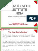 Sara Beattie Institute_India