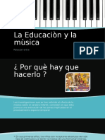 Educacion y Mùsica