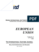 THE INTERNATIONAL CUSTOMS JOURNAL