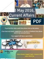 3 May 2016 Current Affair for Competition Exams