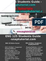 ENG 125 Slingshot Academy/snaptutorial