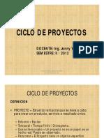 Ciclo de Proyecto