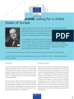 601. Winston Churchill - Calling for a United States of Europe