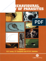 Behavioural Ecology of Parasites (1)