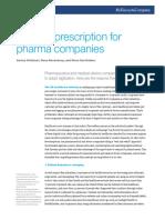A Digital Prescription for Pharma Companies