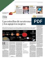 Las Estrellas de Neutrones y Los Agujeros Negros