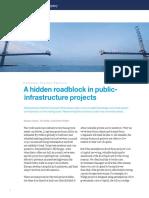 A Hidden Roadblock in Public Infrastructure Projects