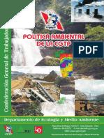 Política ambiental de la CGTP