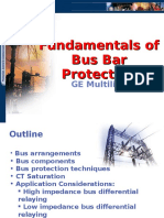 Busbar Protection by GE