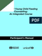 IYCF Participants Manual