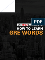 GREedge_eBook_How to Learn GRE Words