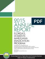 Domestic Marijuana Eradication Report