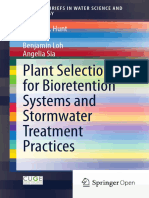 y) William F. Hunt, Bill Lord, Benjamin Loh, Angelia Sia (Auth.)-Plant Selection for Bioretention Systems and Stormwater Treatment Practices-Springer-Verl